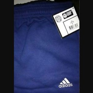adidas sweatpants 3 bar logo original collegiate